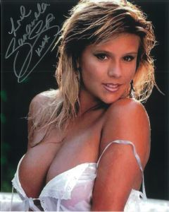 Samantha Fox (Model, Singer) - Genuine Signed Autograph 8288